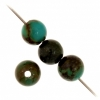 Turquoise Stablized Magnesite 6mm 8In Strand